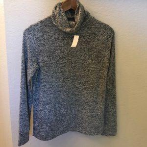 Lou & Grey heather gray turtleneck